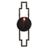 "Baldwin Black Sconce 30""H"