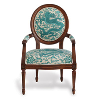 Avery Fruitwood Dragon Turquoise Chair Kit
