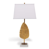"Biscayne Gold Lamp 32""H"