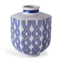 Evelyn Blue Small Vase