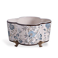 Pondicherry Quatrefoil Planter