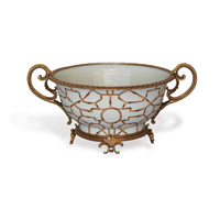 Baldwin White Centerpiece Bowl