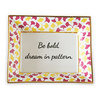 Be Bold Plate (set Of 2)