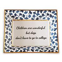 College Plate (set Of 2)