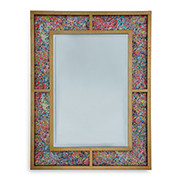 Bedford Gold Mirror / Soiree Multi Fabric
