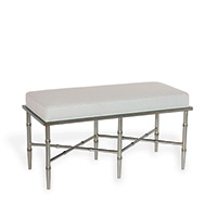 Doheny Silver Double Bench