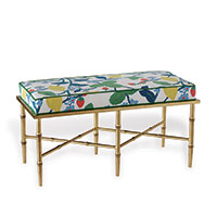 Doheny Gold Double Crewel Summer Bench Kit
