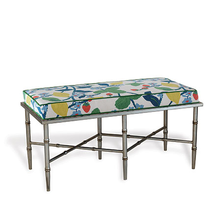 Doheny Silver Double Crewel Summer Bench Kit