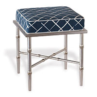 Doheny Silver Single Coves End Indigo Bench Kit