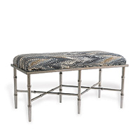 Doheny Silver Double Licorice Bench Kit