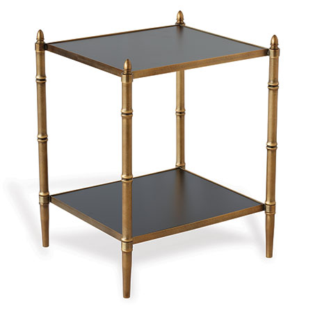 Doheny Brass Accent Table