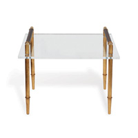 Benton Gold/lucite Table