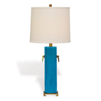 Beverly Turquoise Lamp