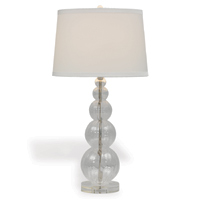 Alessandra Lamp--white Shade