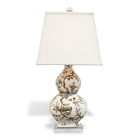 "Chinoise Exotique Lamp-- Square Shade 31""H"