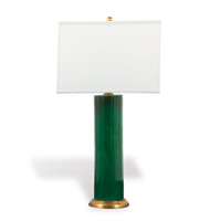 "Melrose Emerald Lamp 32""H"