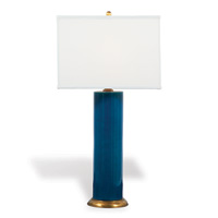 "Melrose Turquoise Lamp 32""H"