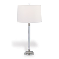 "Maxwell Nickel Lamp 34""H"