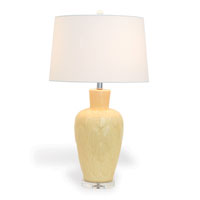 "Bayleaf Yellow Lamp 30""H"