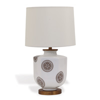 Temba Brown Accent Lamp