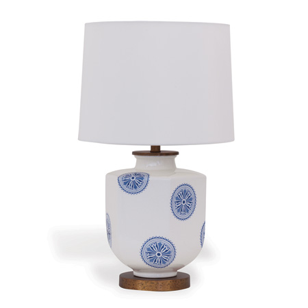 Temba Blue Accent Lamp