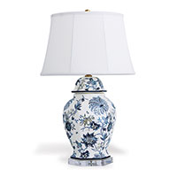 Braganza Blue Hex Lamp