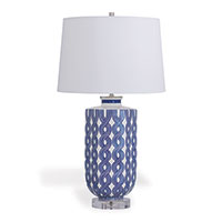 Evelyn Blue Lamp