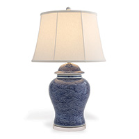 Aegean Blue Lamp