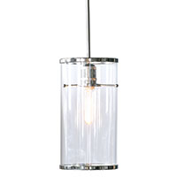 Cassidy Nickel/clear Pendant With Pole