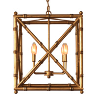 "Baldwin Gold Chandelier 24""H"