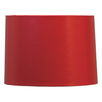 Red Lizard Hardback Drum Shade