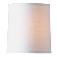 White Hardback Drum Shade