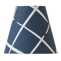Indigo Cove End Mini Shade 3x5.5