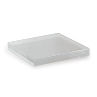 "Acrylic Stand Square 8"" (set Of 2)"