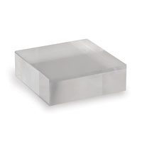 "Acrylic Stand Square 6"" (set Of 2)"